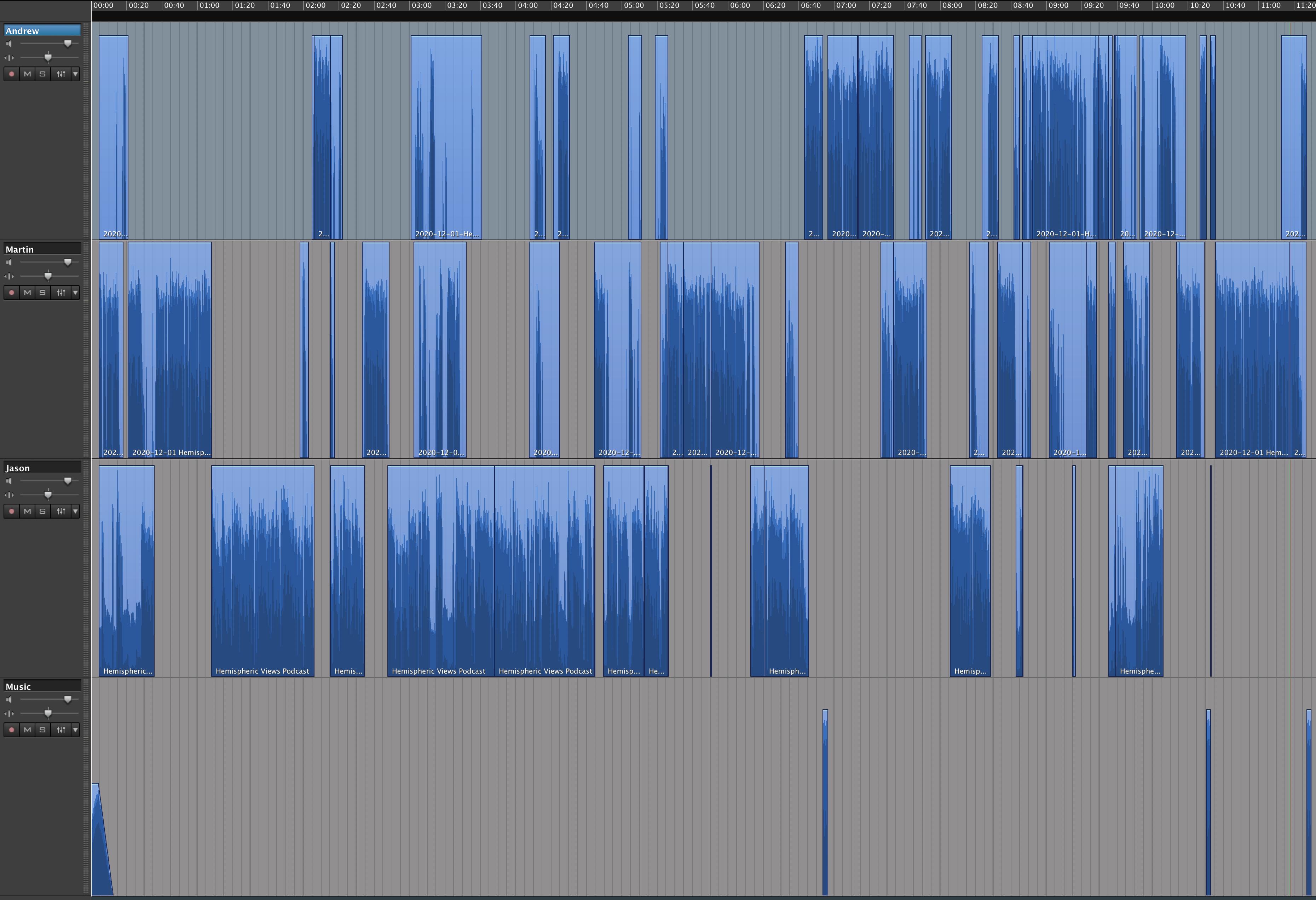 Episode 010 Edit in Logic
